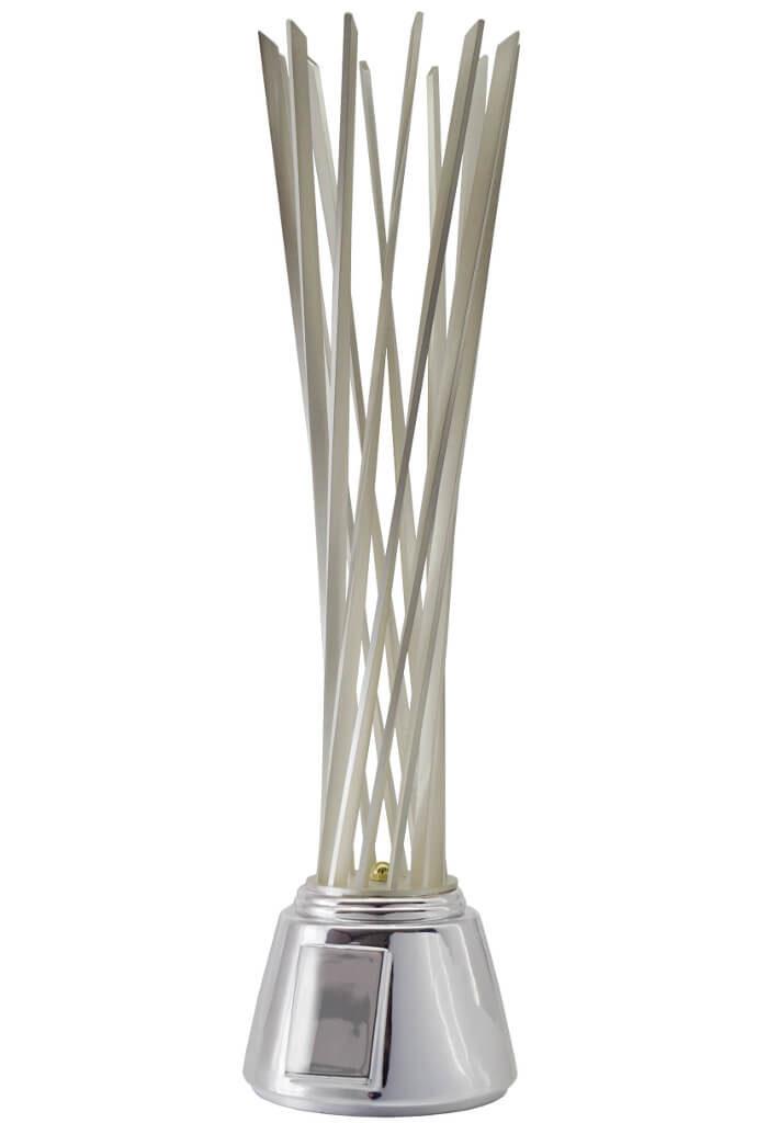 Trofeo con struttura in metallo